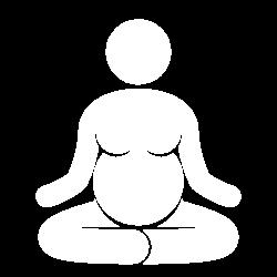 mental entspannt schwanger