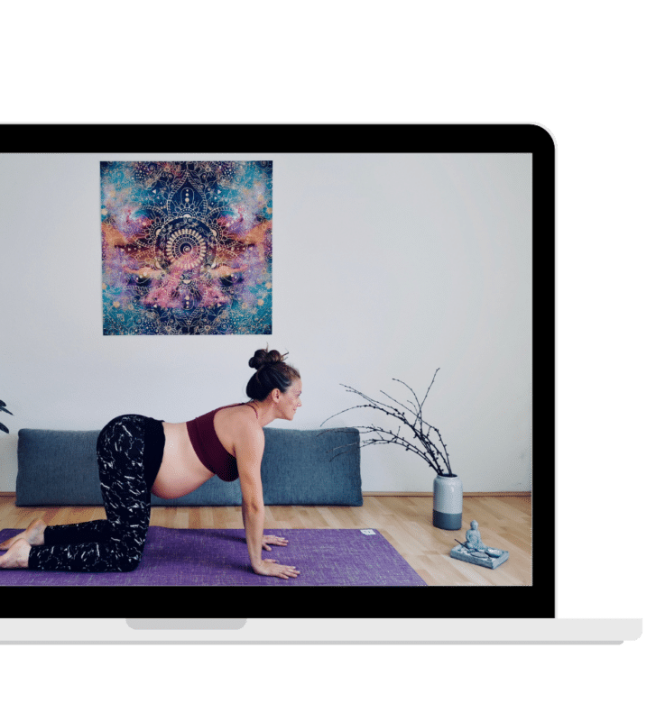 Online Yoga für Schwangere