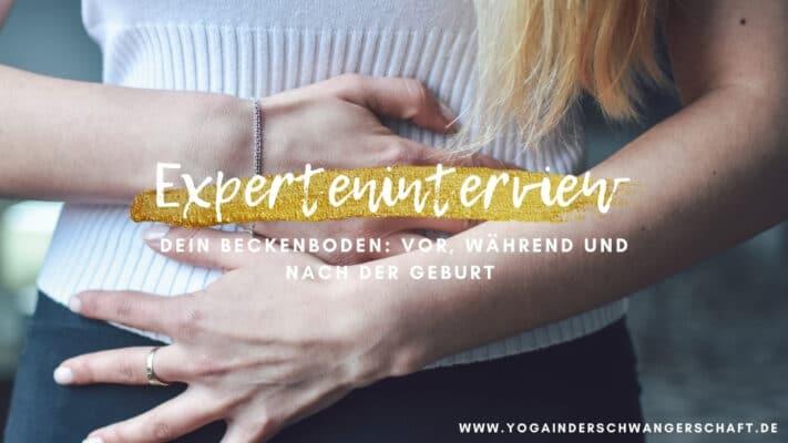 Beckenboden in der Schwangerschaft