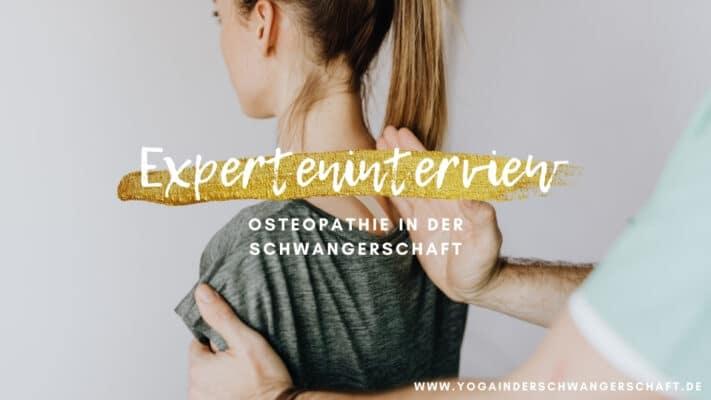 Osteopathie in der Schwangerschaft